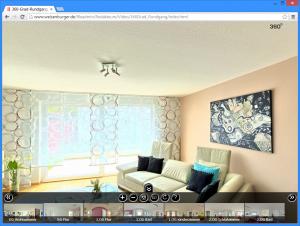 virtueller besuch im musterhaus von weisenburger bau. Black Bedroom Furniture Sets. Home Design Ideas