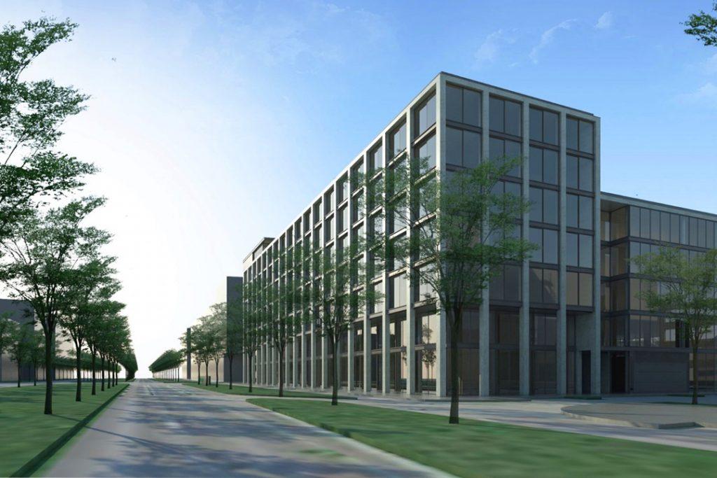 weisenburger Unternehmenszentrale Karlsruhe Visualisierung